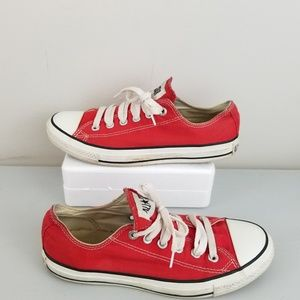 Converse x Red Campaign sneaker men 6 women 8